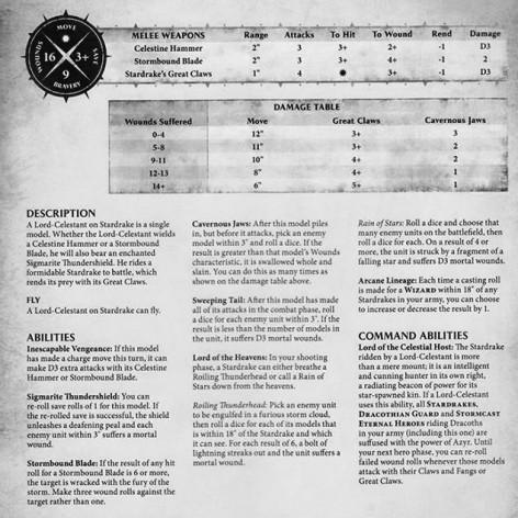 celestant-stardrake-rules