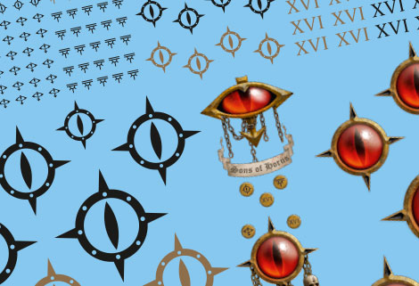 Sons of Horus Transfer Sheet