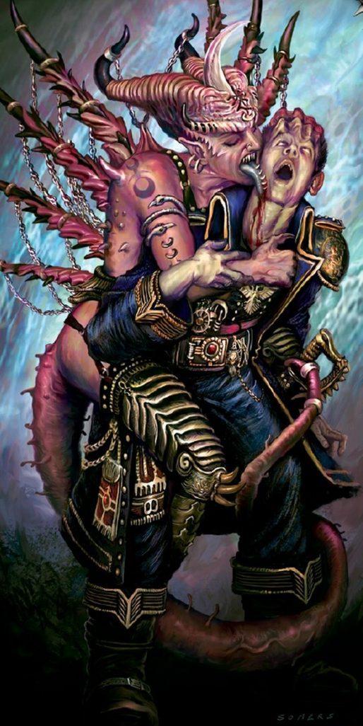 Goatboys 40k Slaanesh Daemonkin Ideas Bell Of Lost Souls