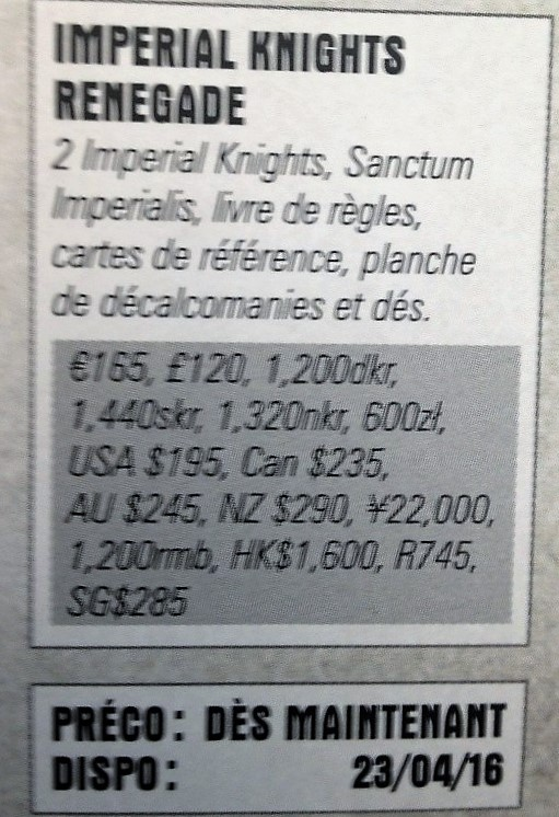 Imperial Knight Renegade info box