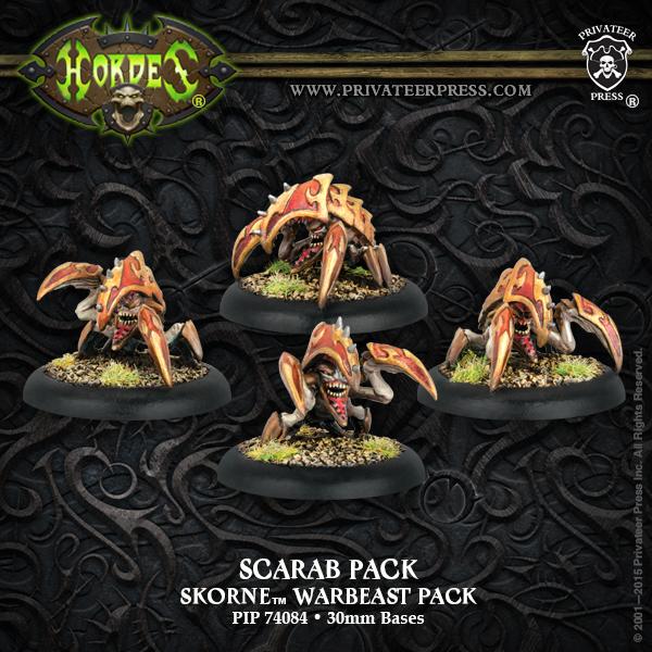 Bell of Lost Souls Warmachine Hordes Skorne Scarab Pack Underdog