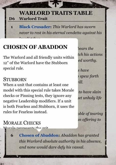 Chosen of Abaddon