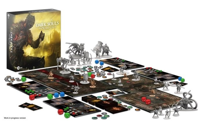 Dark Souls Board Game Spread