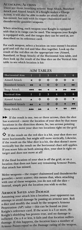 Kinght renegade rules 2