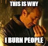 burn people