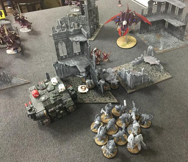 30k Templar vs 40k DE 3