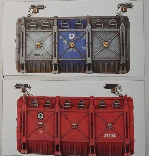 Armoured Containers 2 WD 2