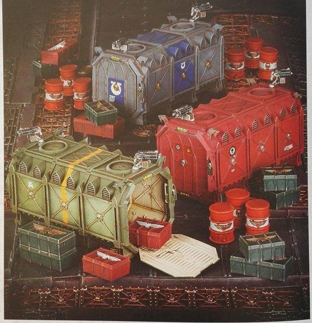 Armoured Containers WD 1