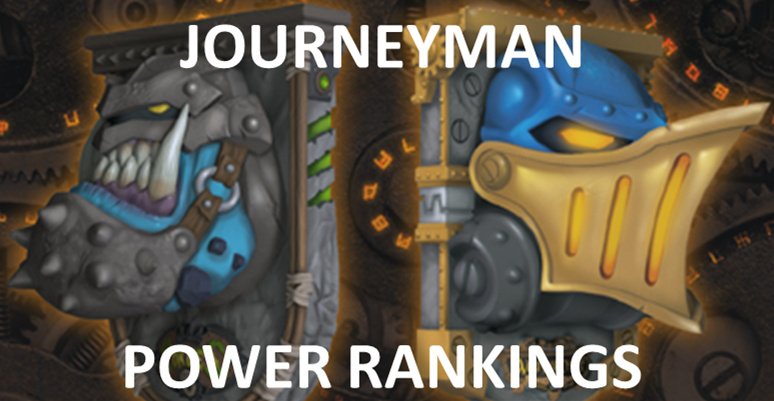 Bell of Lost Souls Warmachine Hordes Journeyman League Power Rankings Corrected