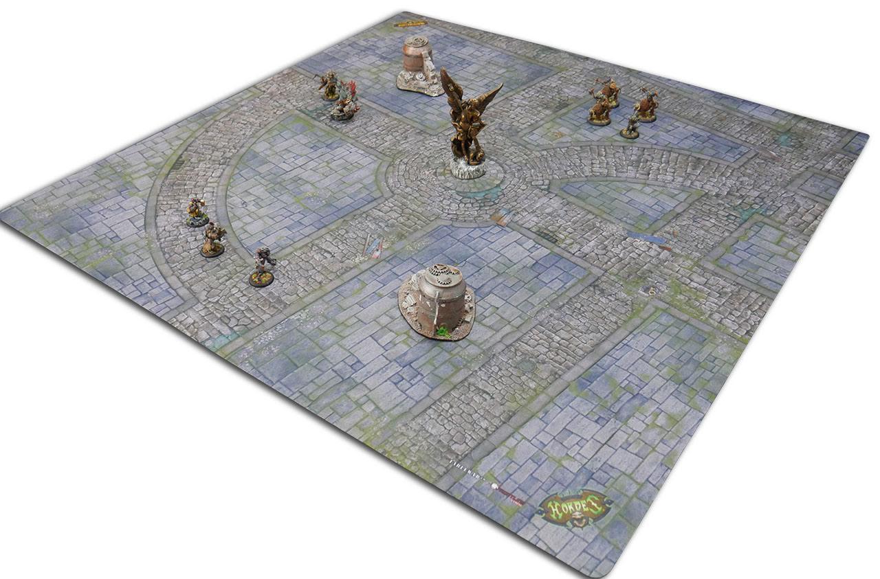 Iron Kingdoms City Streets - mat
