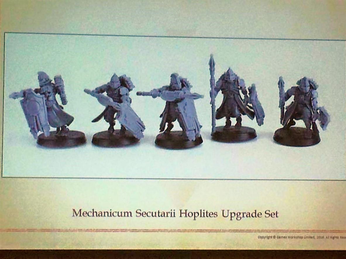 Mechanicum Secutarii Hoplites