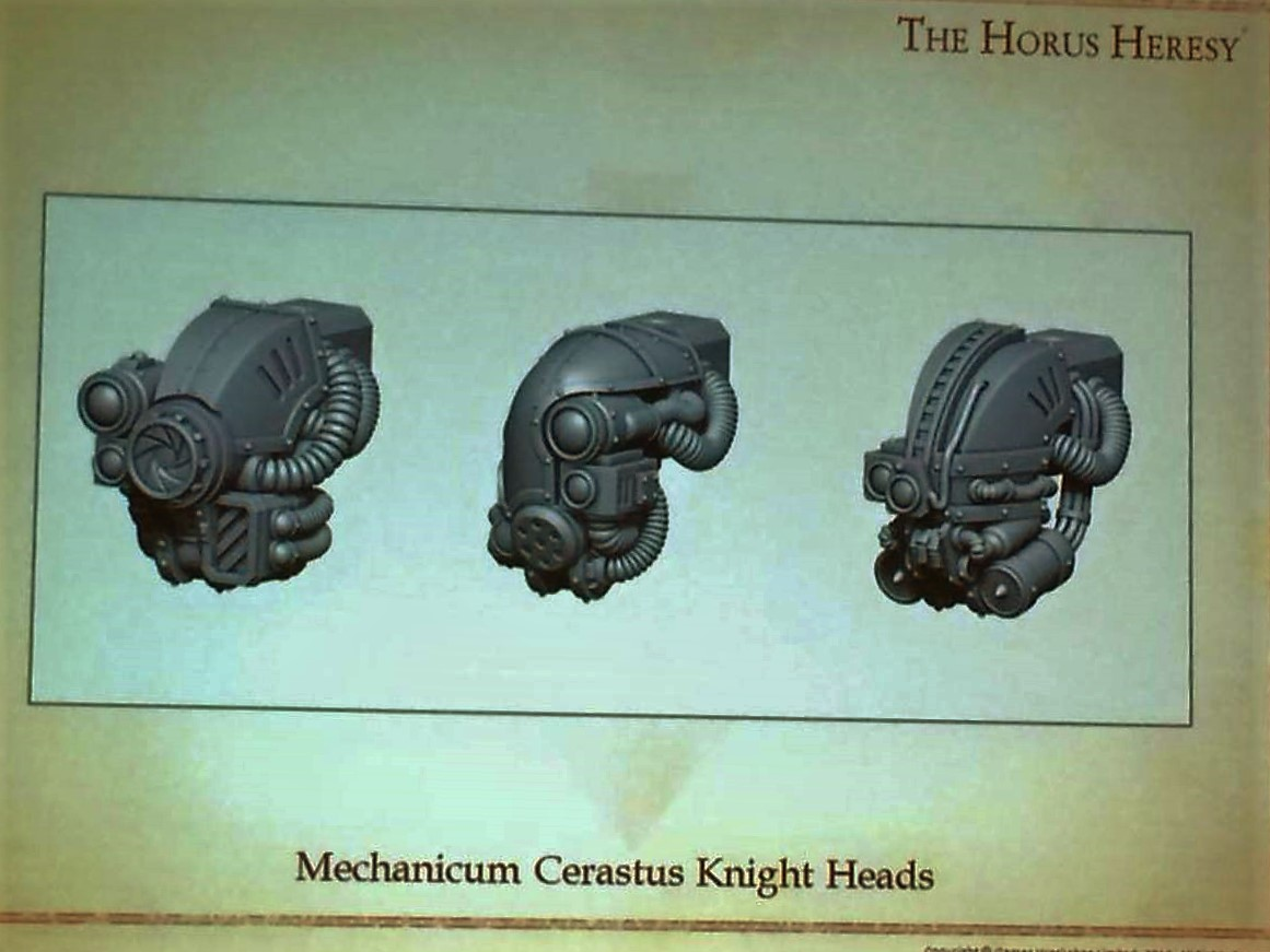 More Knight heads