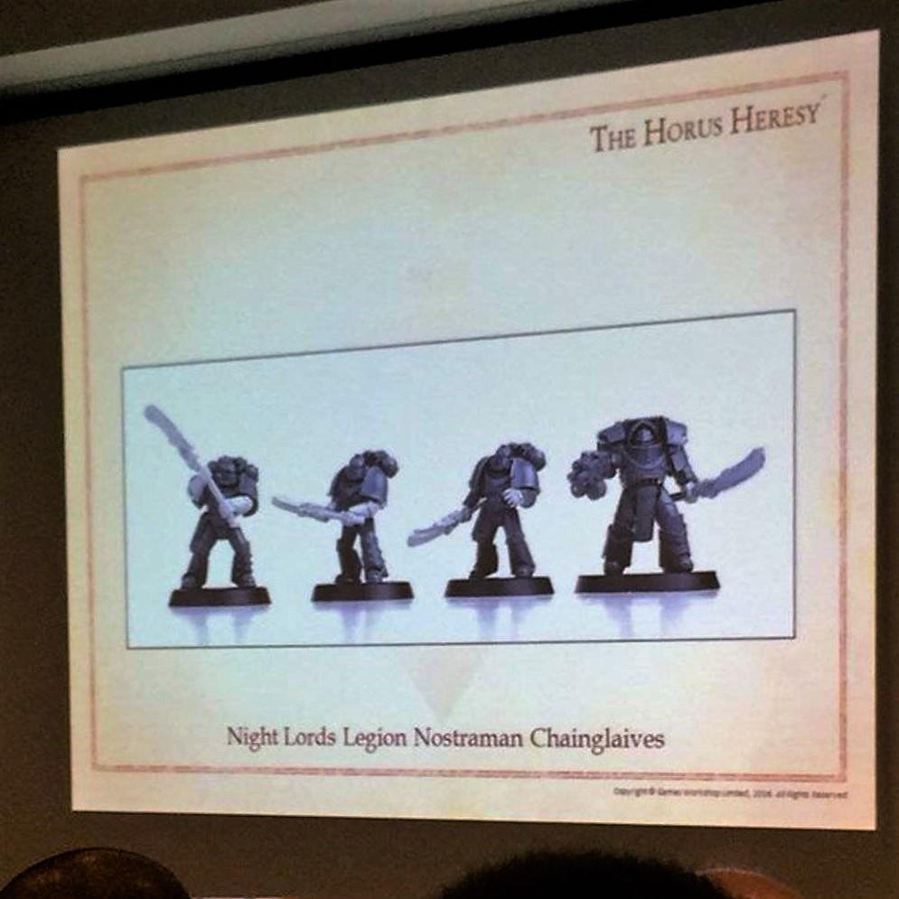 Night Lords Legion Nostraman Chainglavies