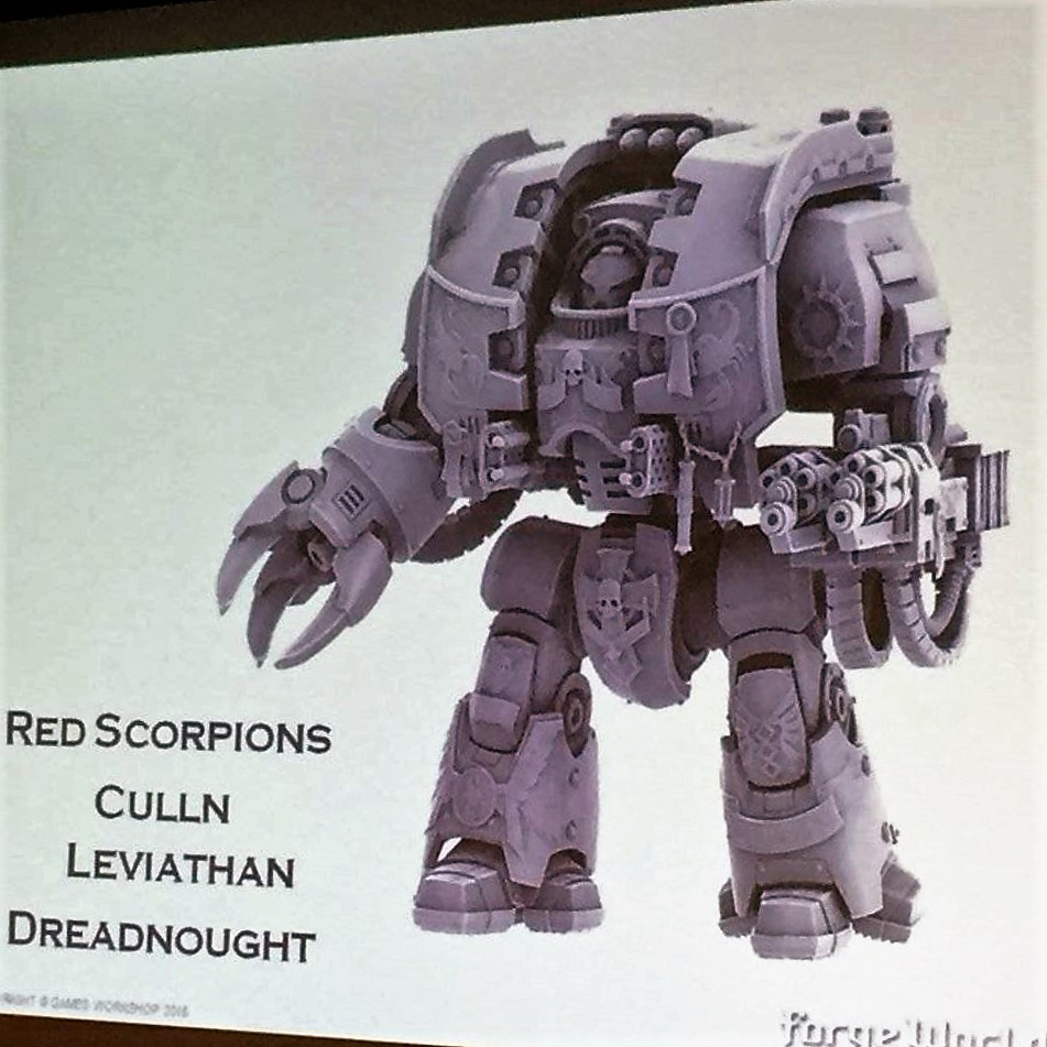 Red Scorpion Culln Leviathan Dreadnought