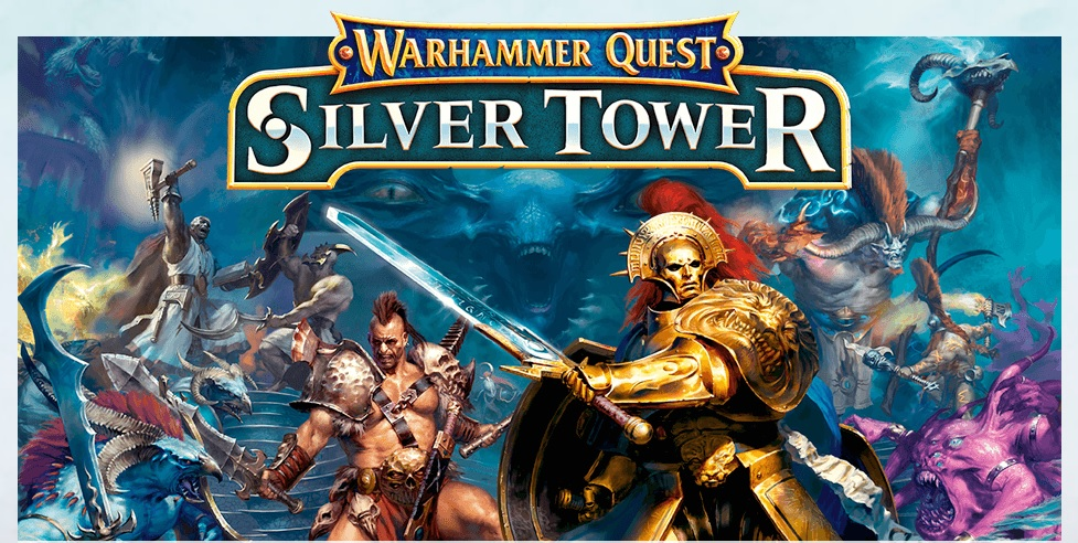 Silver Tower Screen Horz