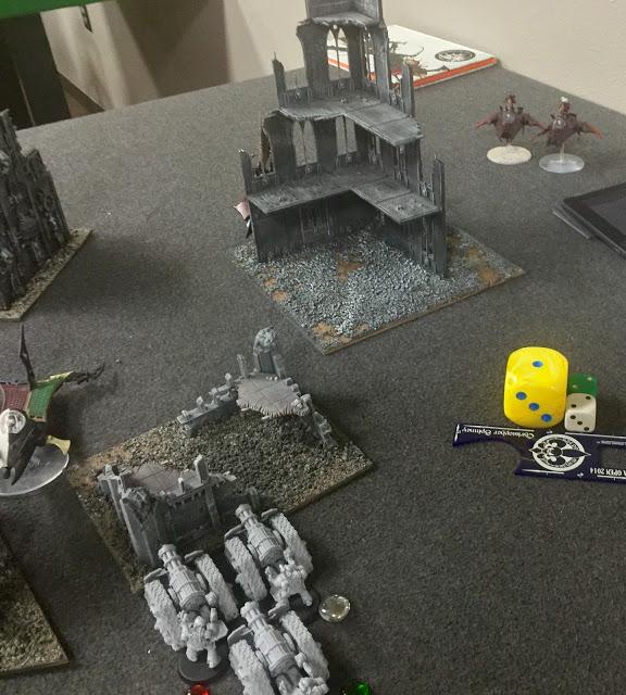 Templar 30k vs Dark Eldar 40k 2