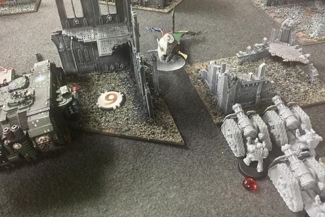 Templar 30k vs Dark Eldar 40k