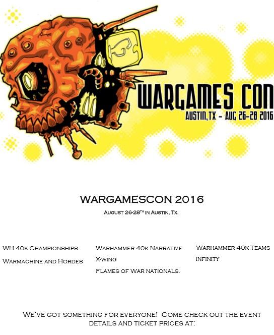 Wargames Con 2016