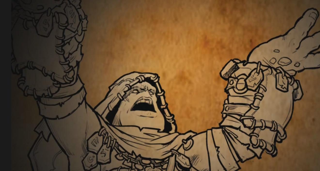 Warmachine Hordes Bell of Lost Souls Sad Troll