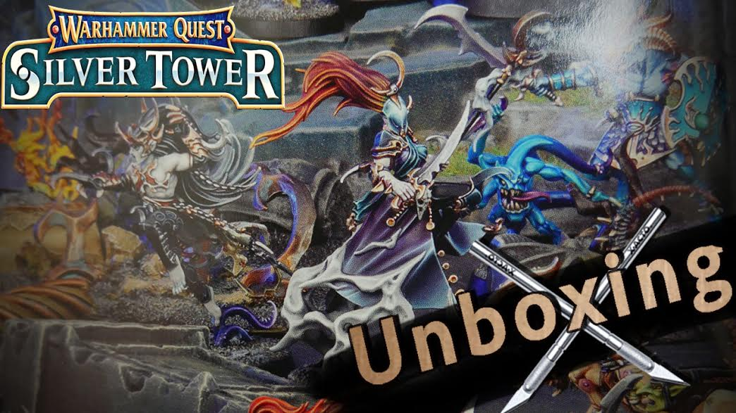 unboxing silver tower