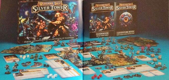 warhammer quest contents