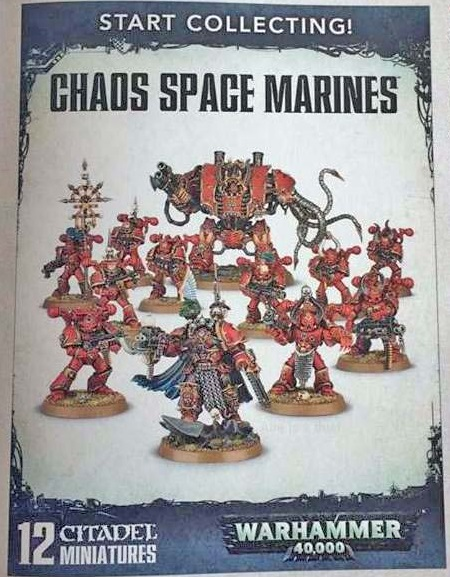 Chaos Space marines Start Collecting crop