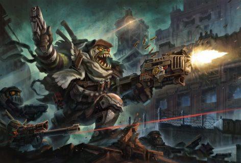 deadzone Orc Commando