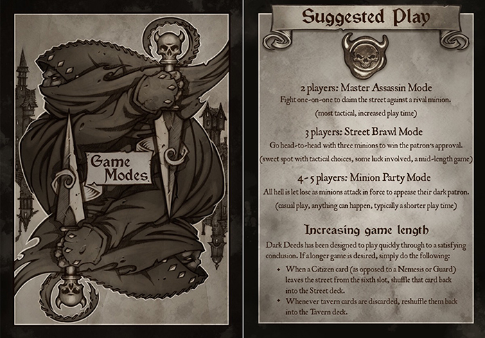 Dark Deeds Game Modes