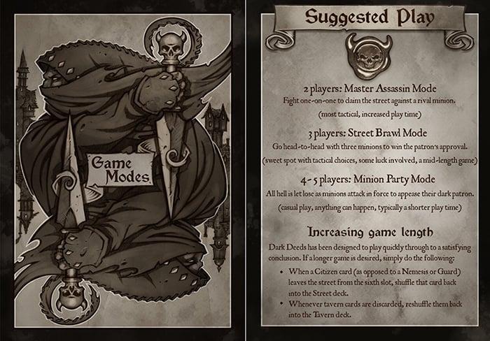 Dark Deeds Game Modes