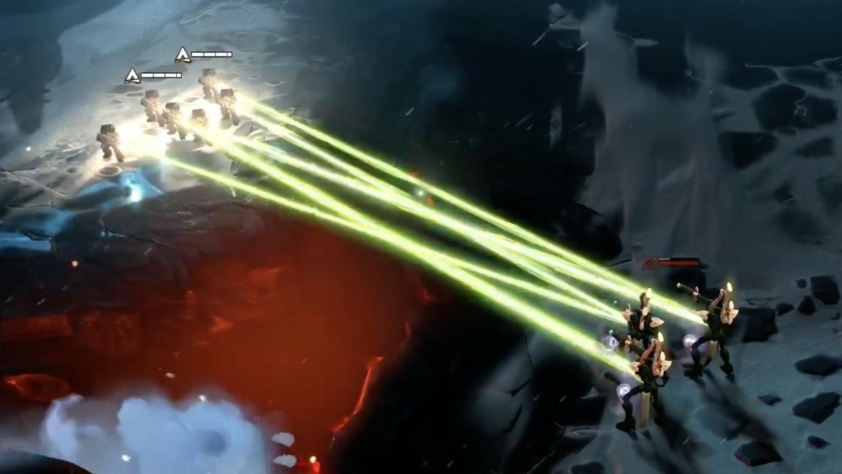 Dawn of War III Marines vs Eldar