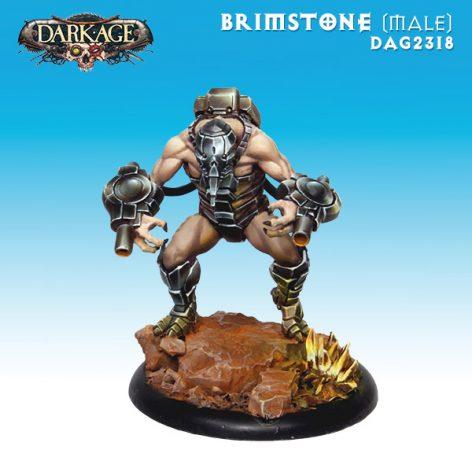 Dragyri Fire Caste Brimstone