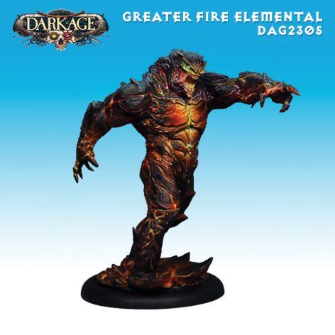 Dragyri Fire Caste Elemental