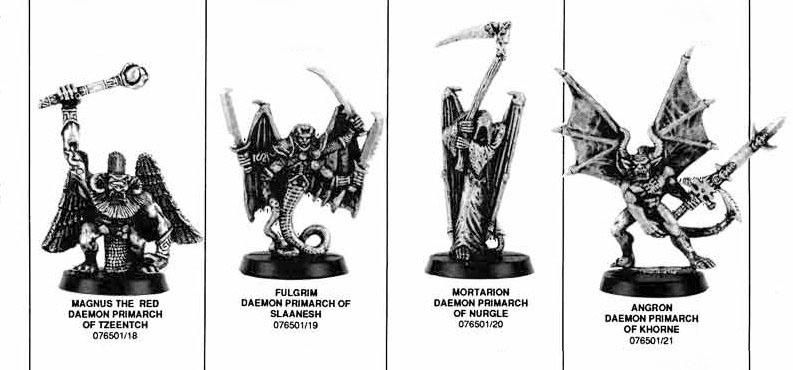 EPIC Daemon Primarchs