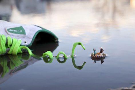 Fantastic Voyage slinkachu