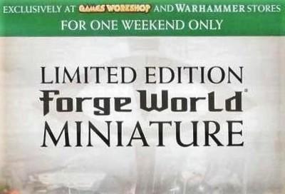 Forge World Games Workshop store