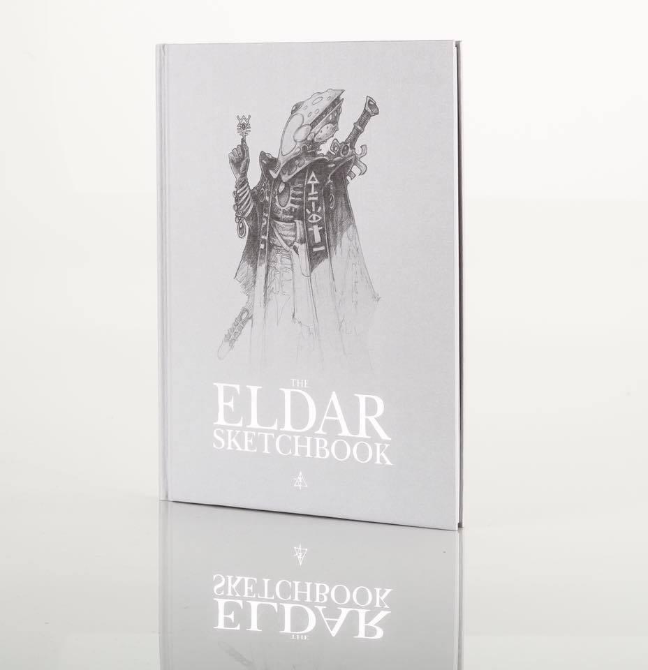 GW Swag Eldar Sketechbook