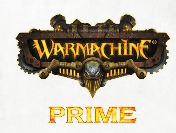 Prime Logo Privateer Press Warmachine