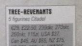 Tree-Revenants price