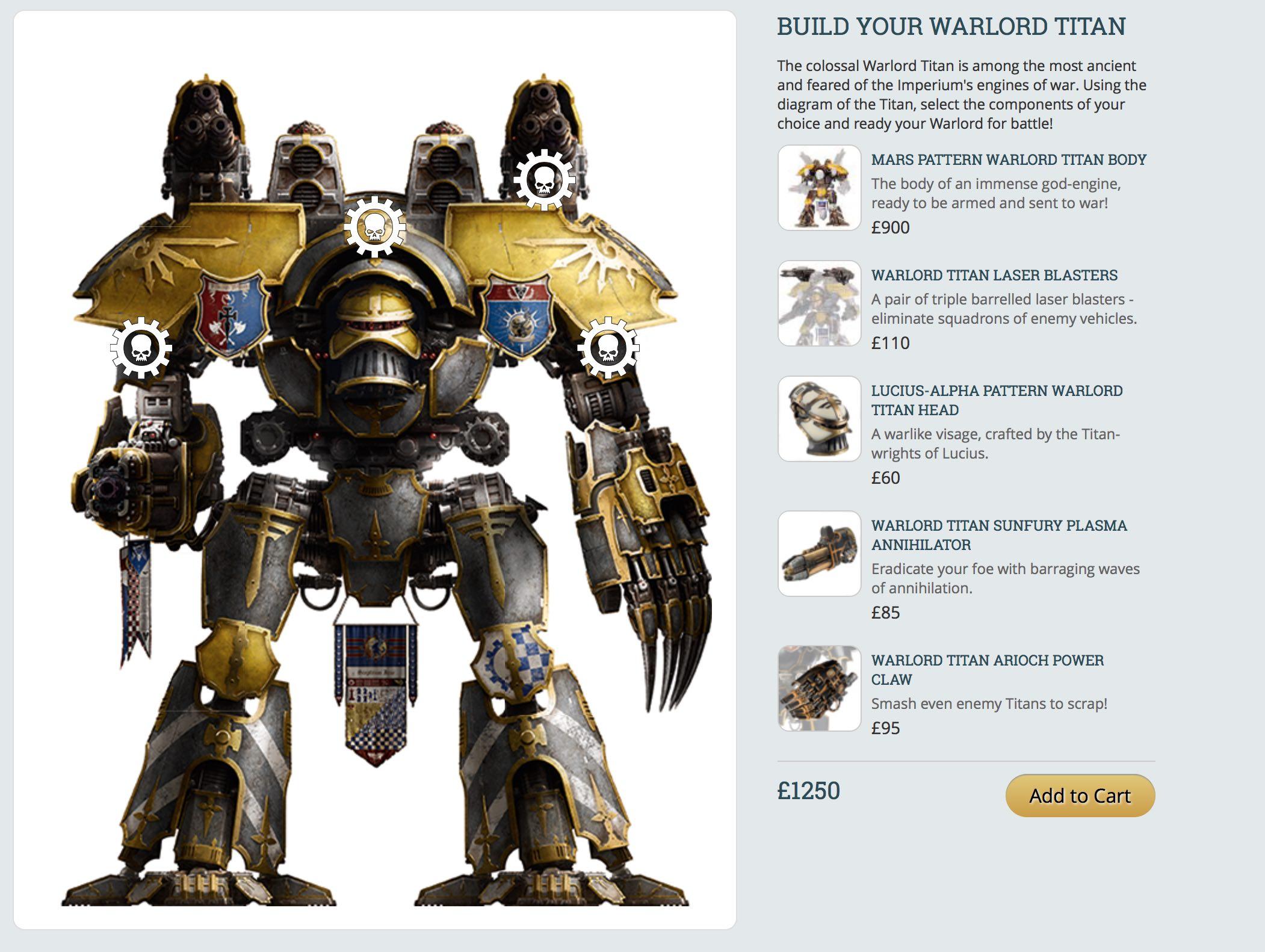 Warlord Titan Builder