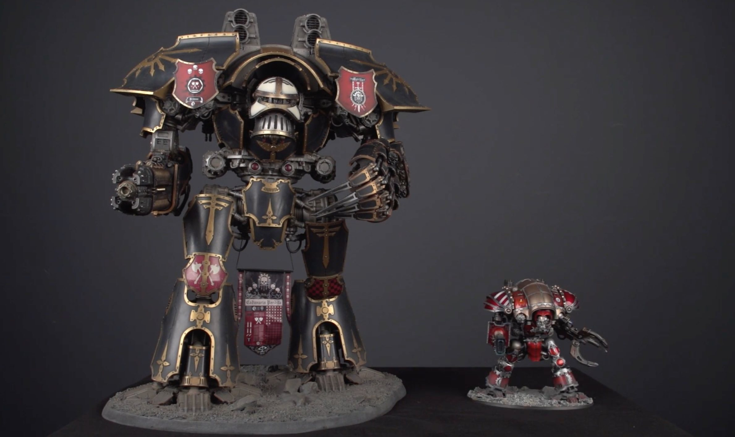 Warlord vs Knight
