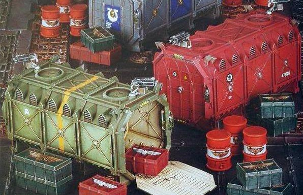 armored containers