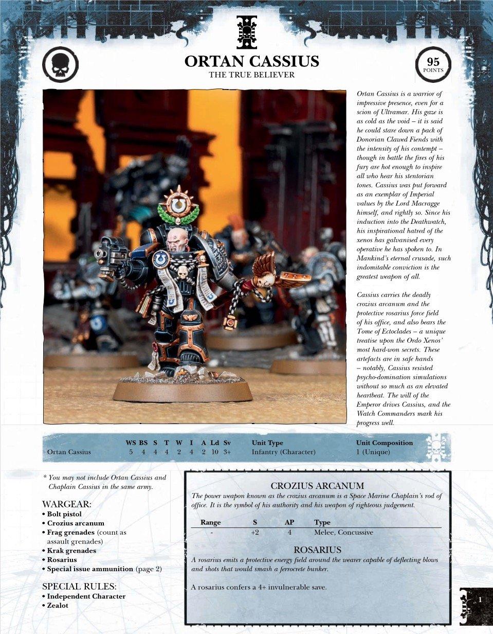cassius-deathwatch-rules