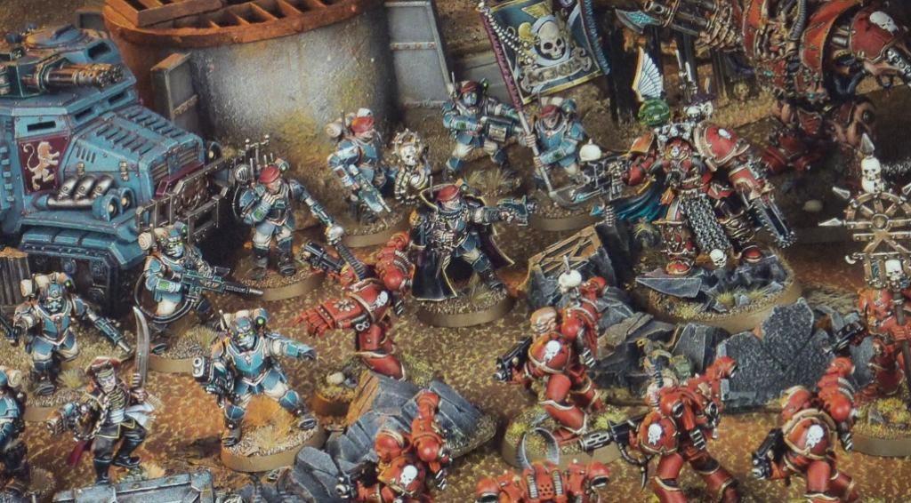 chaos vs guard white dwarf #124