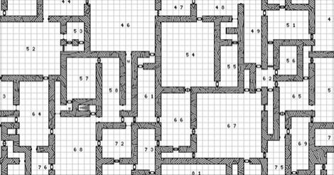 d20 dungeon generator map