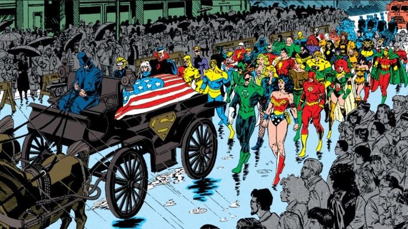 superman funeral