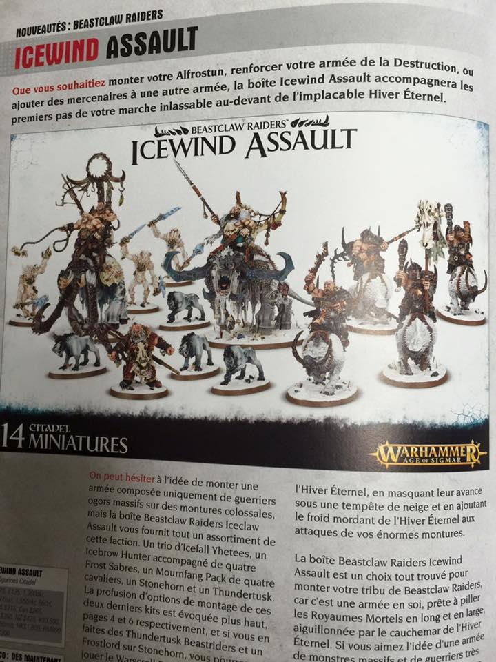 AoS Beastclaw Icewind Assault Ogor
