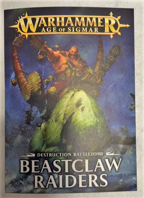 AoS Ogres Ogor Beastclaw