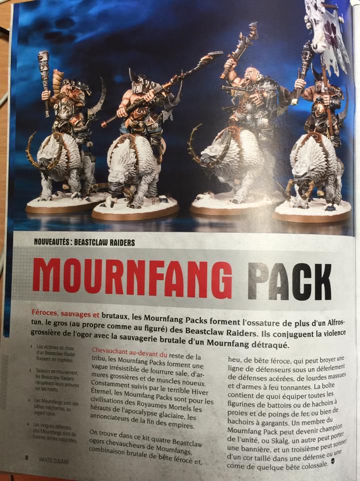 AoS Beastclaw Mornfang Ogor