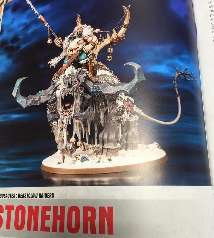 AoS Beastclaw Stonehorn Ogor