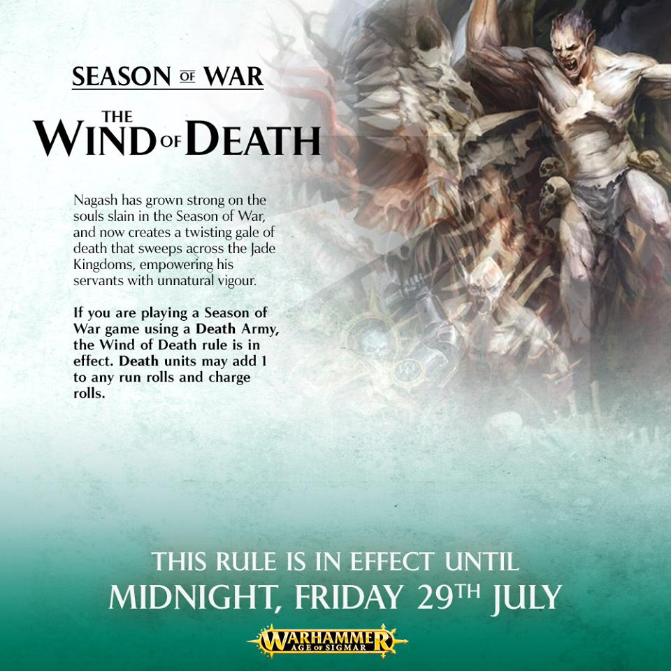 Age of Sigmar Winds of Death